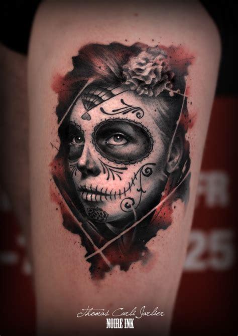 Une Santa Muerte Pour Son Premier Tattoo
