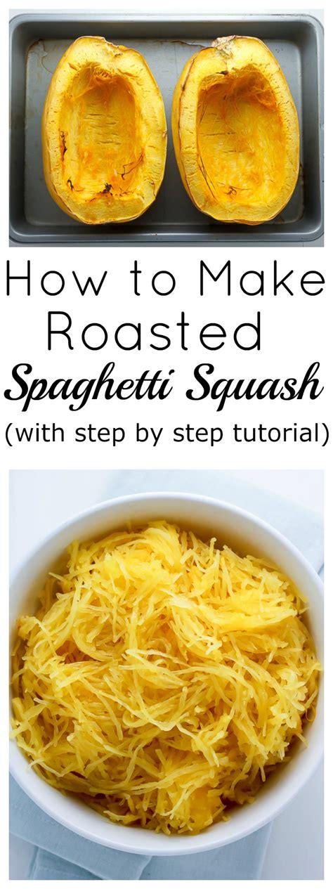 How Roast Spaghetti Squash Baker Nature