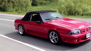 91 mustang GT convertible - YouTube