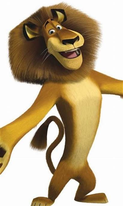 Alex Draw Lion Madagascar Cliparts Clipart Android