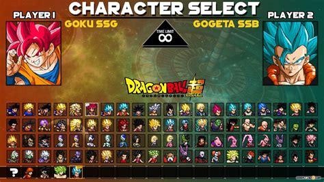 dragon ball super maxi mugen  dbzgamesorg