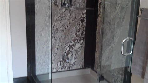 granite shower walls granite vanity