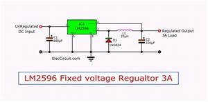 Regulator Switching Dc To Dc Step Down Voltage With Lm2596