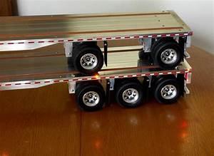 My husband made these. Custom Tamiya trailers - RC truck ...