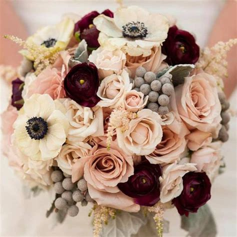 blush colored flowers 25 best ideas about wine colored wedding on