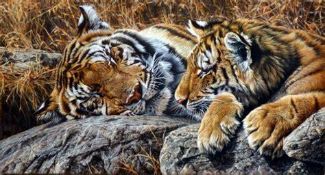 british animal artist alan  hunt amazing british