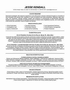 free law enforcement resume example writing resume With federal law enforcement resume