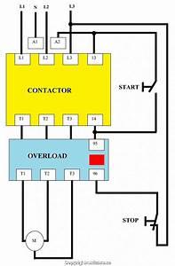 Single Phase Dol Starter Wiring Diagram Pdf