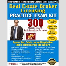 Real Estate Broker License Practice Exam