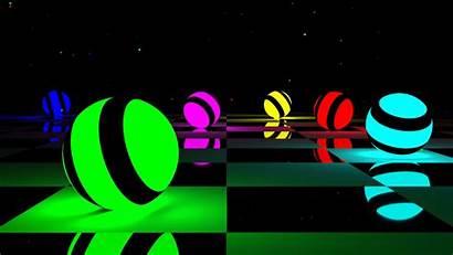 3d Colorful Desktop Backgrounds Wallpapers Cool Balls