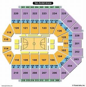 Van Andel Arena Seating Charts Views Games Answers