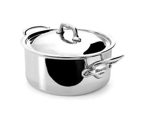mauviel mcook stainless steel casserole  quart cutlery