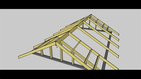 how to build a gable roof gable roof procedure