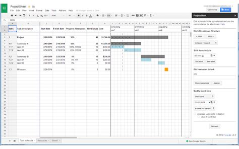 projectsheet planning  suite marketplace