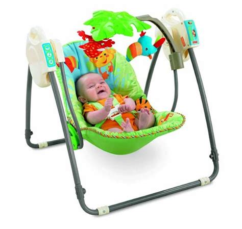 fisher price transat balancelle transportable de la jungle