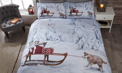 Up To 50% Off Winter Wonderland Duvet Cover Sets