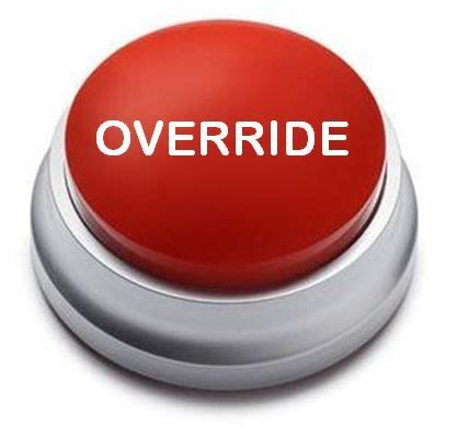 override button psychology today