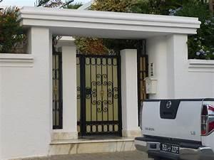 porte exterieure fer forge a tunis citizen59 flickr With porte de garage et porte bois pleine