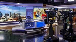 'Los Angeles station debuts new set' on TV News Insider