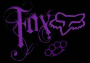 Photo Collection Purple Fox Racing Logo