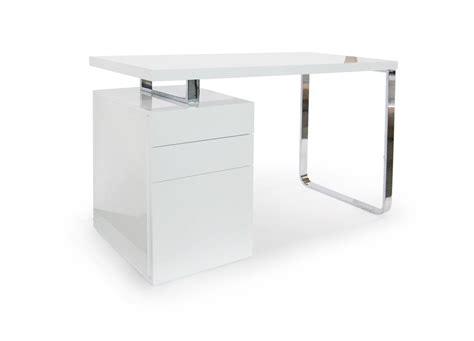 acheter bureau pas cher bureau blanc laque pas cher