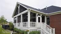 gable roof designs Screen Porch Design Ideas for Your Porch's Exterior