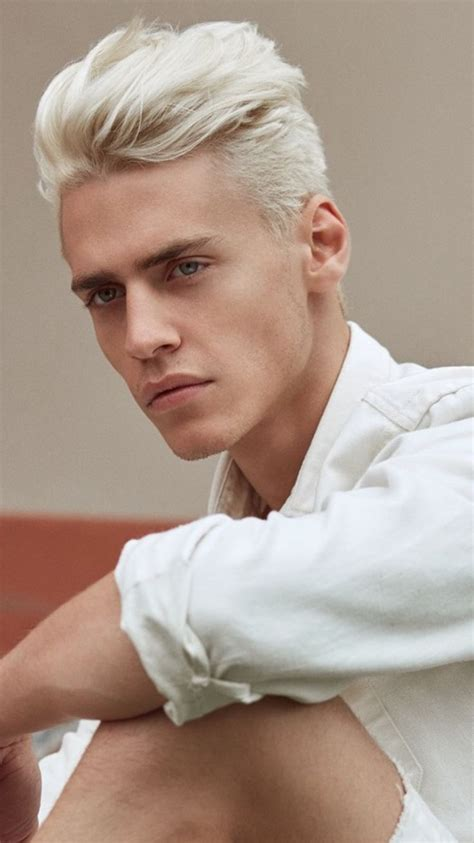 Best 25 White Hair Men Ideas On Pinterest Silver Hair