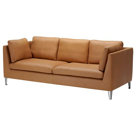 Stockholm Three Seat Sofa Seglora Natural Ikea