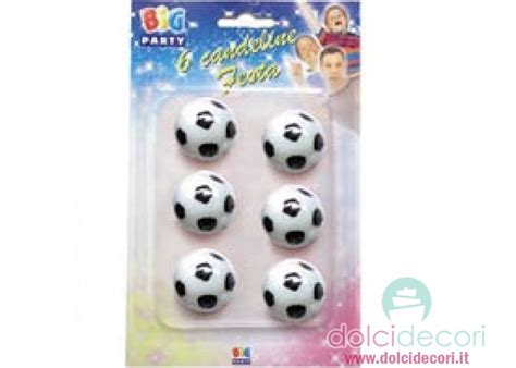 Candele Per Compleanno Candeline Calcio Per Compleanno