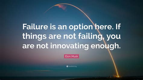 elon musk quote failure   option