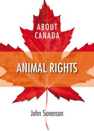 canada animal rights fernwood publishing