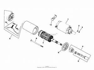On My Bobcat 440b 18hp Kohler Engine The Starter Fails To