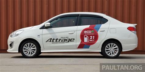 attrage mitsubishi 2014 driven mitsubishi attrage 21 km l claims put to test