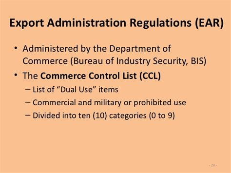 bureau of industry and security bis export overview