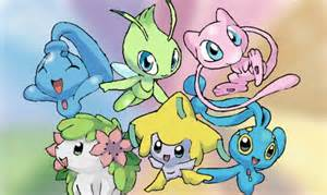Cute Legendary Pokemon