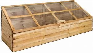 Fabriquer Une Serre En Bois : serre de jardin en bois trait autoclave ~ Melissatoandfro.com Idées de Décoration