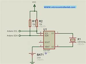 Real Time Clock Ds1307 Interfacing With Arduino