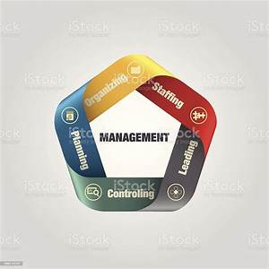 Management Diagram Stock Illustration