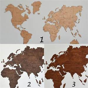 Weltkarte Auf Holz : wall map of the world map wooden travel push pin rustic home wood wall art 5th anniversary gift ~ Buech-reservation.com Haus und Dekorationen