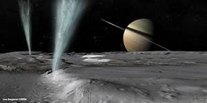 Saturn's moon Enceladus has a huge ocean of liquid water ...