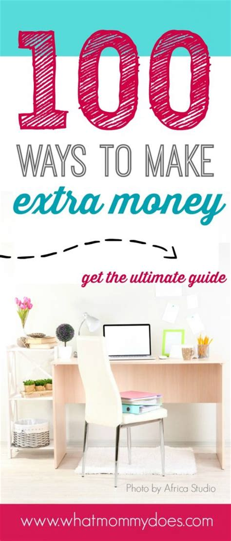 List Of 100+ Ways To Make Money  How To Make Extra Cash  What Mommy Does