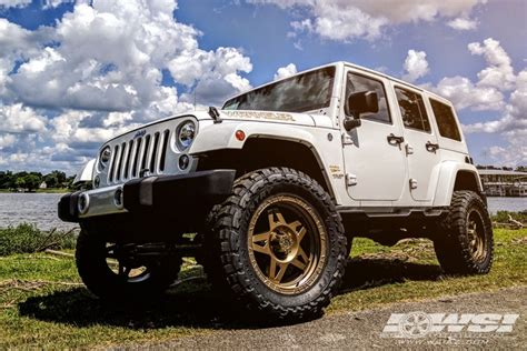 bronze wheels jeep 2017 jeep wrangler with 20 quot rbp off road caliber 5 in