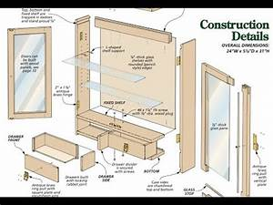 Cabinet plans how to build a cabinet with plans for Bathroom construction plans