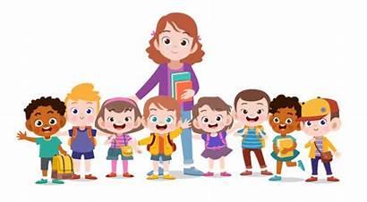 Teacher Happy Kid Clipart Clip Learning Teachers