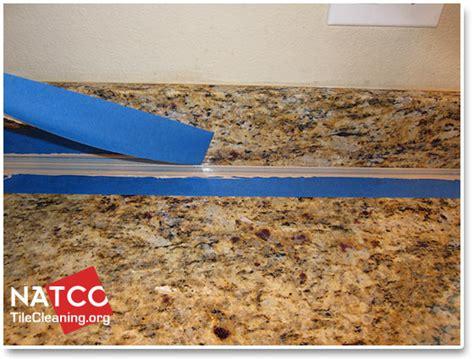 index of recaulk granite countertop