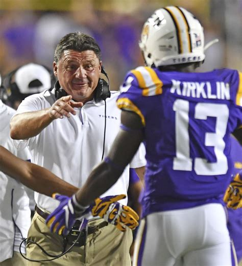 Remember Jontre Kirklin? The LSU receiver, former Lutcher ...