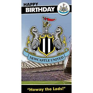 Newcastle United FC Birthday Card Selection Toon Army ...