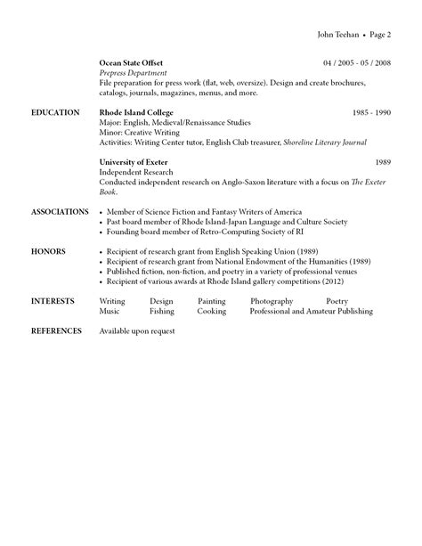 See Attached Resume For Your Perusal by Resume Perusal