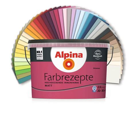 Wandfarbe Rot Braun by Alpina Farben Markenbaumarkt24