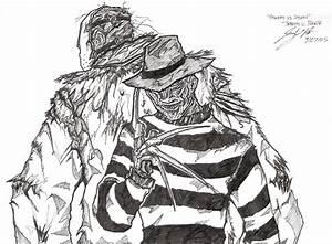 Freddy vs Jason by RonaldTheBad on DeviantArt